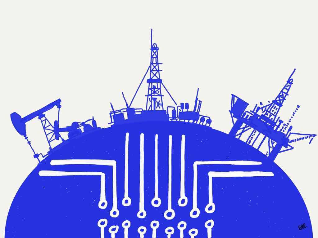 Digital strategy for upstream oil and gas
