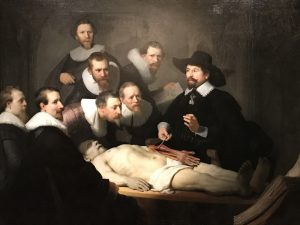 Photo of Rembrandt from the RijksMuseum