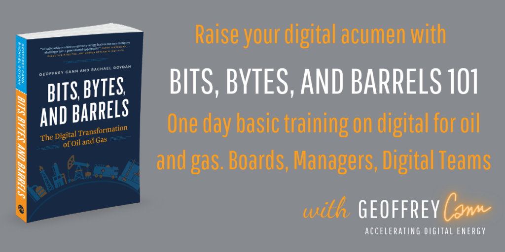 Digital training based on the book Bits Bytes and Barrels