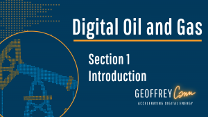 Digital Oil and Gas on-line course